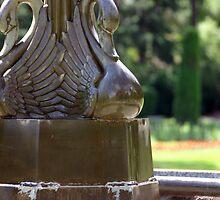Swan Fountain by K9Gannon