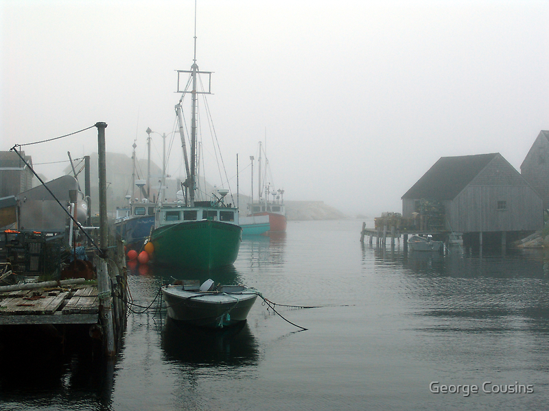 Misty Afternoon  by George Cousins