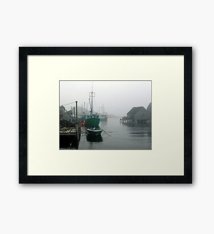 Misty Afternoon  Framed Print