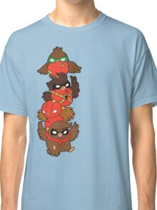 Go!Robins! - Lets fluff up! Classic T-Shirt