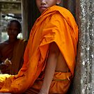 Novice Monk by Mick Yates