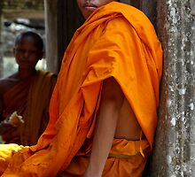 Novice Monk by Mick Yates