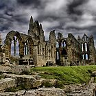 Whitby Abbey 2 by Paul Thompson Photography