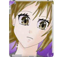 Cry Manga Girl iPad Case/Skin