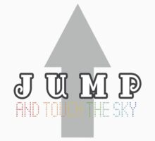 Jump and touch the sky Kids Clothes