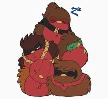 Go!Robins! - A pile of Robins One Piece - Short Sleeve