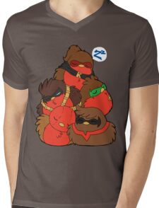 Go!Robins! - A pile of Robins Mens V-Neck T-Shirt