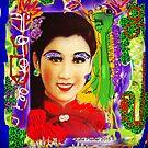 Bonjour Pigozzi  Digital collage by Kater
