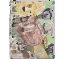 curious cows.  iPad Case/Skin