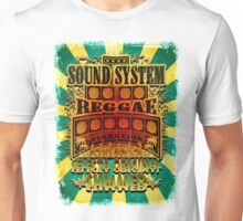 Sound System Reggae Vibration Selecta Unisex T-Shirt