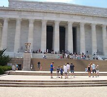 Abraham Lincoln Memorial by Happywoman