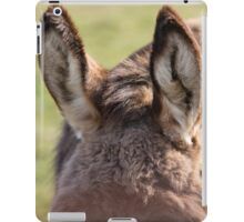 donkey ears iPad Case/Skin