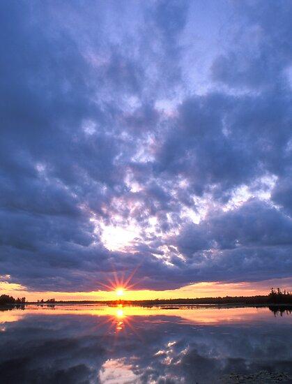 Dollarville Sunset Portrait by Bill Spengler