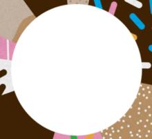 Doughnut Chart Sticker
