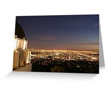 Skyline city Greeting Card