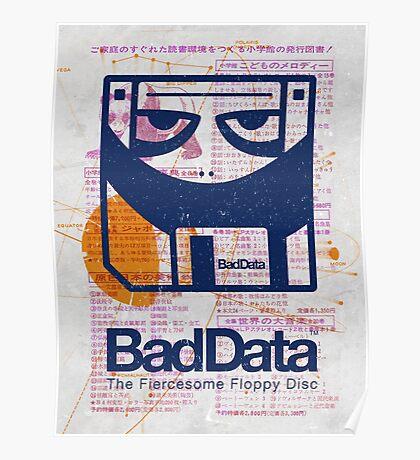 Bad Data: Pandamonium (Navy Blue) Poster
