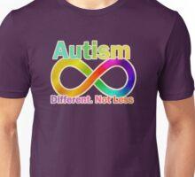 Autism.  Different.  Not Less. Unisex T-Shirt