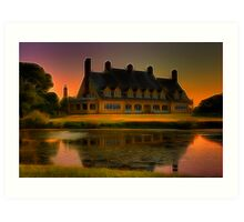 Whalehead Hunt Club Art Print
