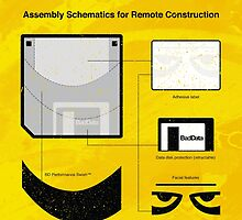 Bad Data: Assembly Instructions (Yellow) by baddata