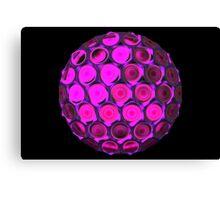 Honeycomb ball Canvas Print
