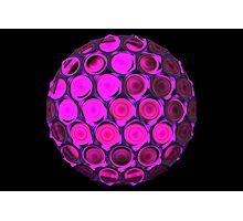 Honeycomb ball Photographic Print