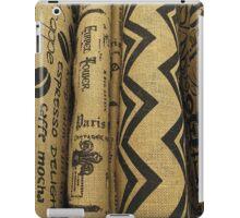 Burlap Bolts iPad Case/Skin