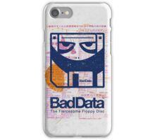 Bad Data: Pandamonium (Navy Blue) iPhone Case/Skin