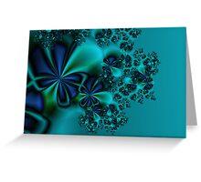 December Flowers Greeting Card