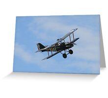 WWI SE5 Biplane Greeting Card