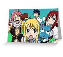 Fairy Tail (2) Greeting Card