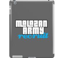 Army recruit iPad Case/Skin