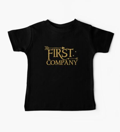 First COMPANY with arrows Baby Tee