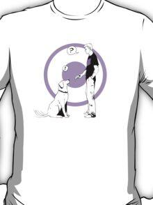 Hawkguy and Pizza Dog T-Shirt
