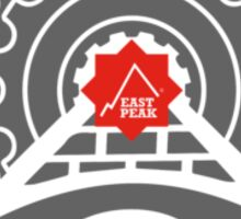 Mountain Bike T-Shirt - Pyramid - East Peak Apparel Sticker