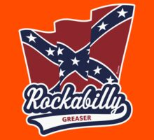 Rockabilly Greaser Flag Kids Clothes