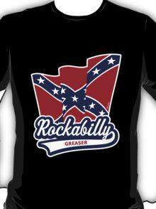 Rockabilly Greaser Flag T-Shirt