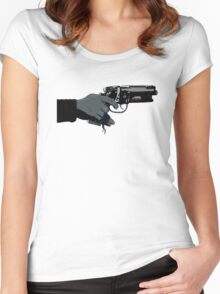 Wounded Runner Women's Fitted Scoop T-Shirt