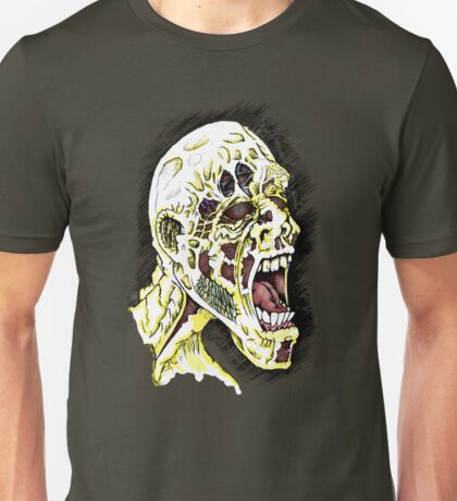 Screaming Zombie - Colourised Unisex T-Shirt