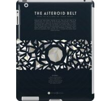 Ceres and the asteroid belt iPad Case/Skin