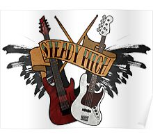 The Music Pitch... Rock'n'Roll and let your guitar, bass and drums rock! (Clear version) Poster