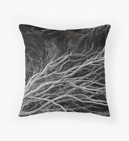 Twisting Branches Throw Pillow