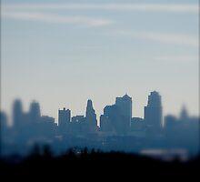 Downtown - Kansas City, Missouri by Robert Baker