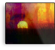 Plains Sunrise Metal Print