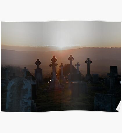 Hinderwell Cemetary Poster