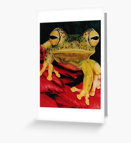Who Loves Ya Greeting Card