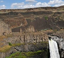 Rainbow Over Palouse Falls, Washington State by The Accidental Farmers