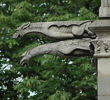 Gargoyles of Notre Dame by Maureen Jochetz