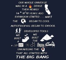 BIG BANG THEORY THEME SONG Kids Tee