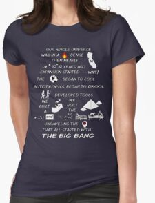 BIG BANG THEORY THEME SONG Womens Fitted T-Shirt