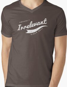 Person of Interest - Proudly Irrelevant Since 2011 Mens V-Neck T-Shirt